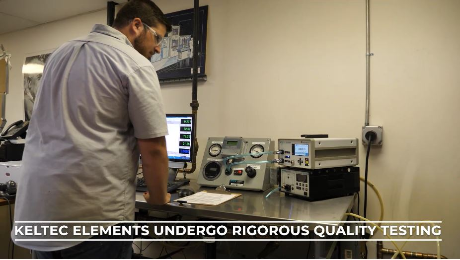 State of the art equipment in Keltec's Lab